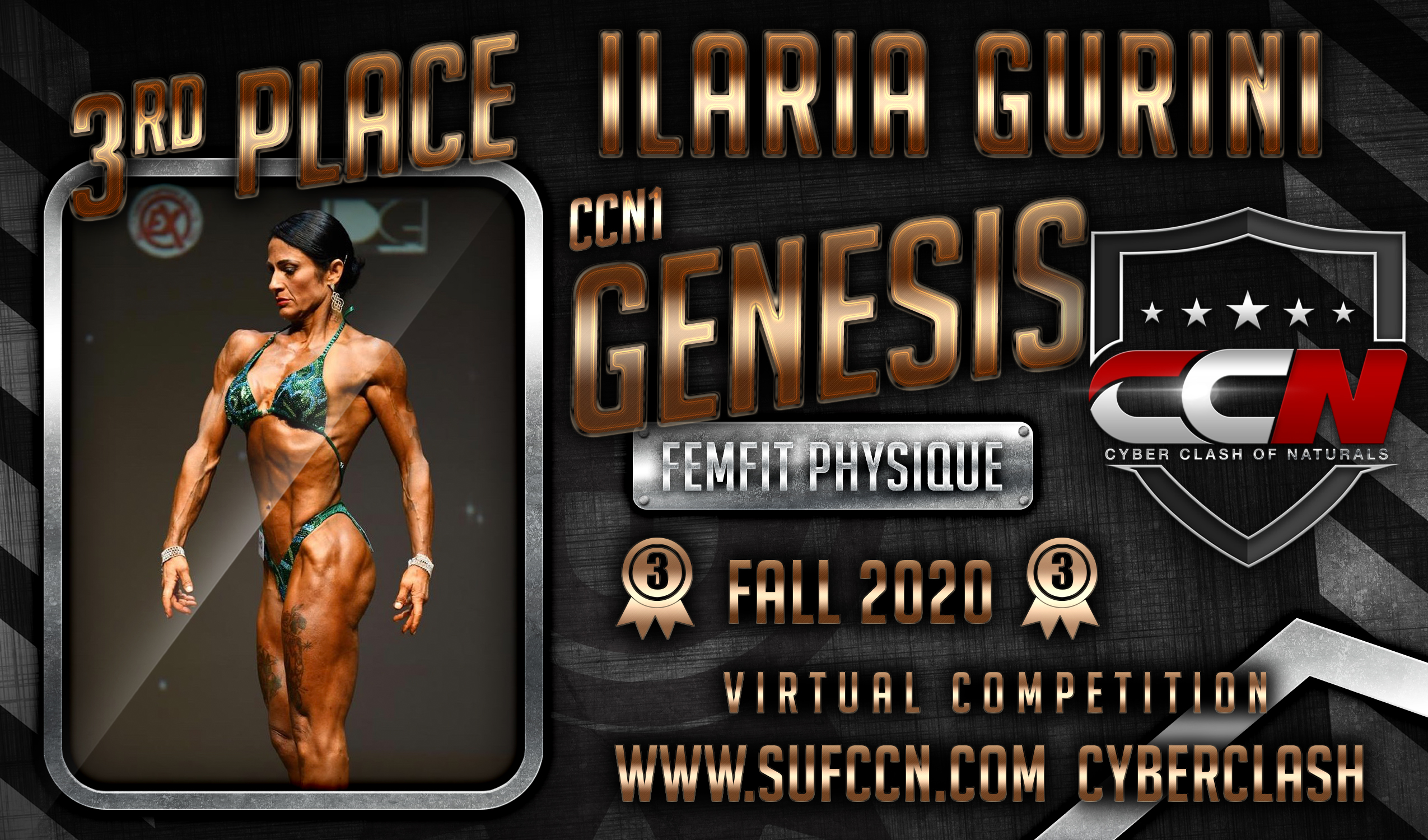 3rd place banner-FEMFIT